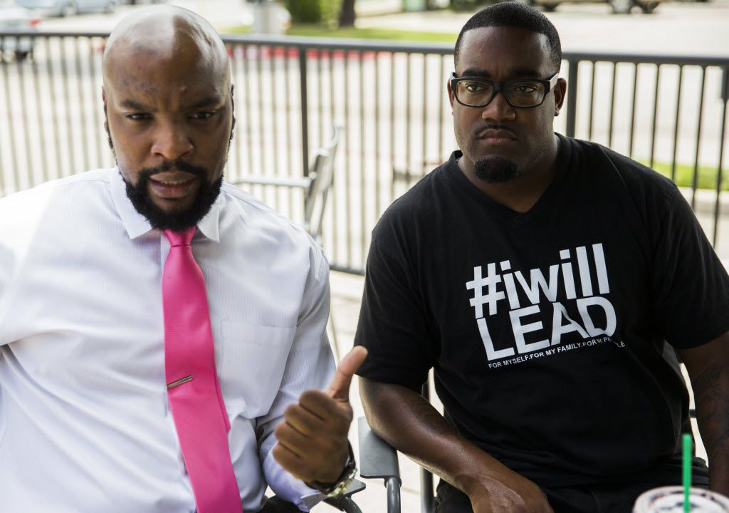 One of lawyer Lee Merritt's first big cases came on July 7, 2016, when five Dallas officers were murdered during a downtown march against police brutality. Merritt represented Mark Hughes, whom police at first wrongly identified as the gunman.