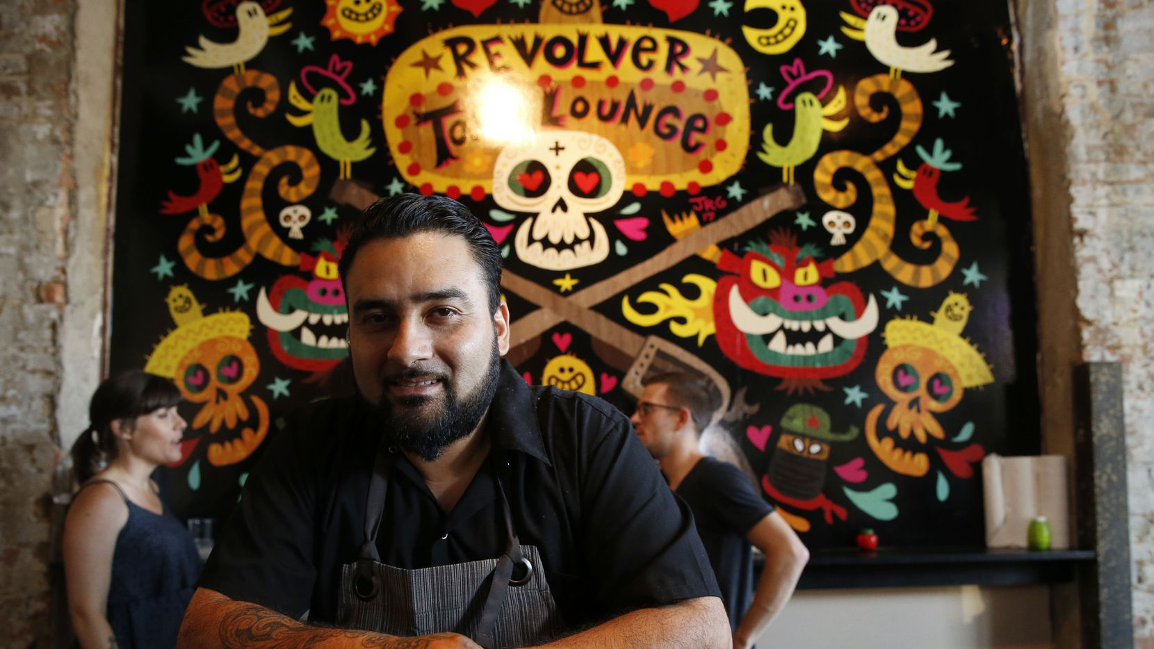 Regino Rojas, photographed here at Revolver Taco Lounge in Dallas' Deep Ellum, operated a short-lived restaurant in Sundance Square in Fort Worth. It closed Aug. 14, 2021.