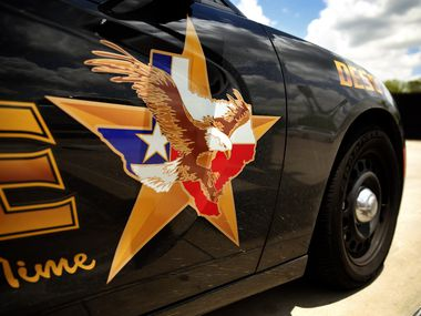 A DeSoto, Texas police car is pictured, Wednesday, June 24, 2020.