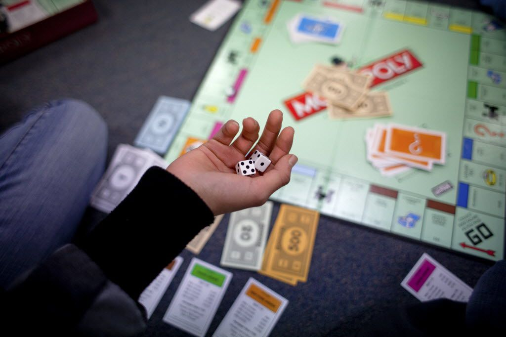 Hasbro Inc. makes the Monopoly game.