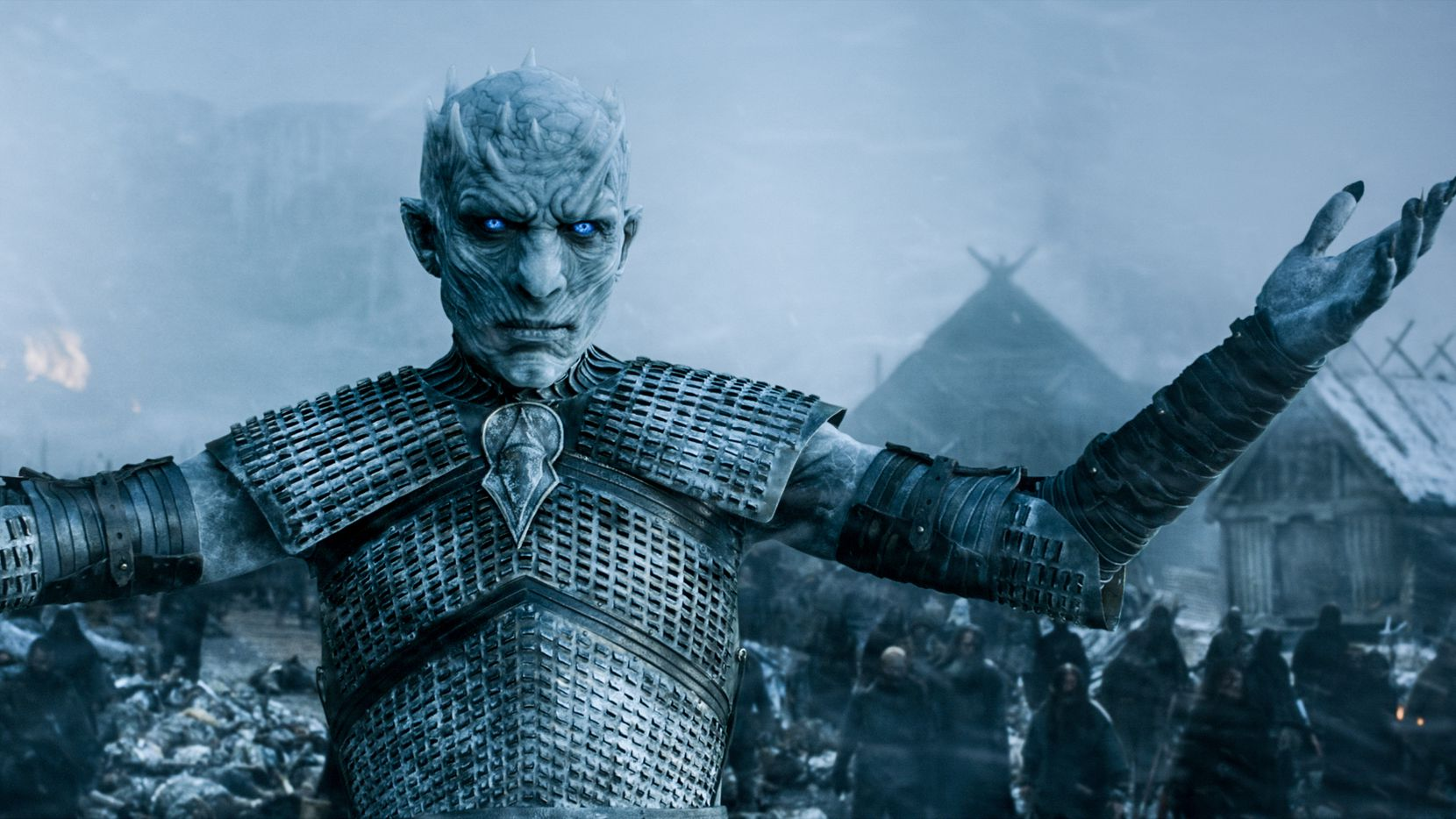 The Night King knows how to strike a pose. (HBO)