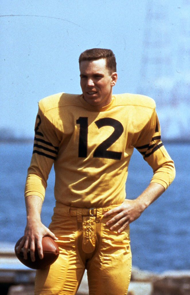 Roger Staubach, the Navy quarterback in 1963. (Photo courtesy of the Cotton Bowl.)