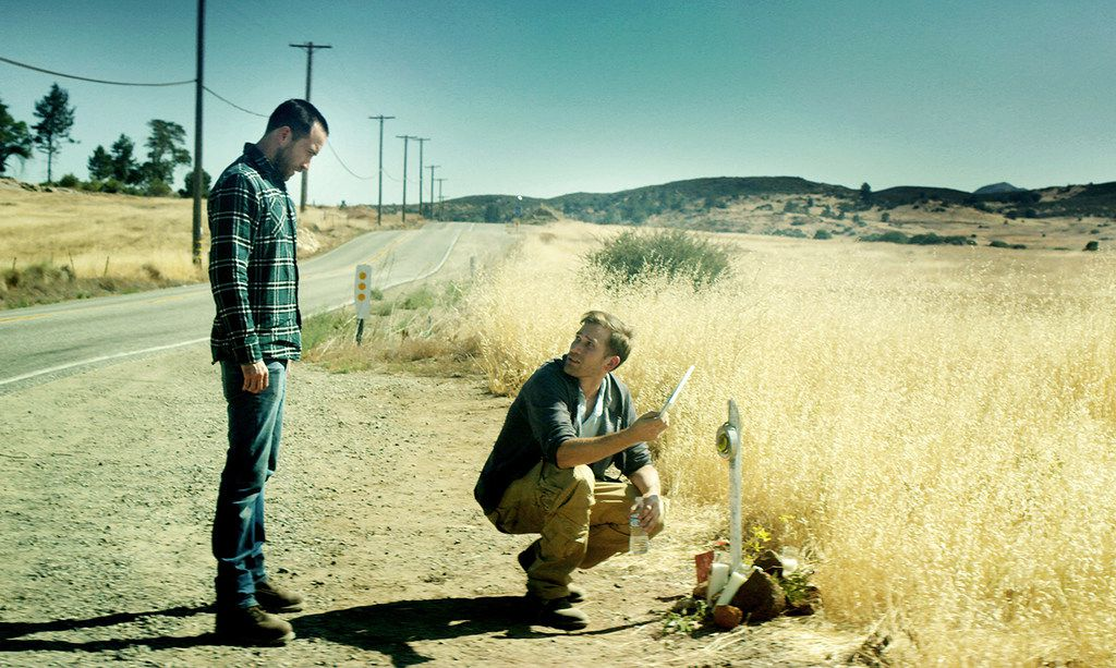 """Justin Benson, left, and Aaron Moorhead are stars as well as co-directors of """"The Endless."""""""