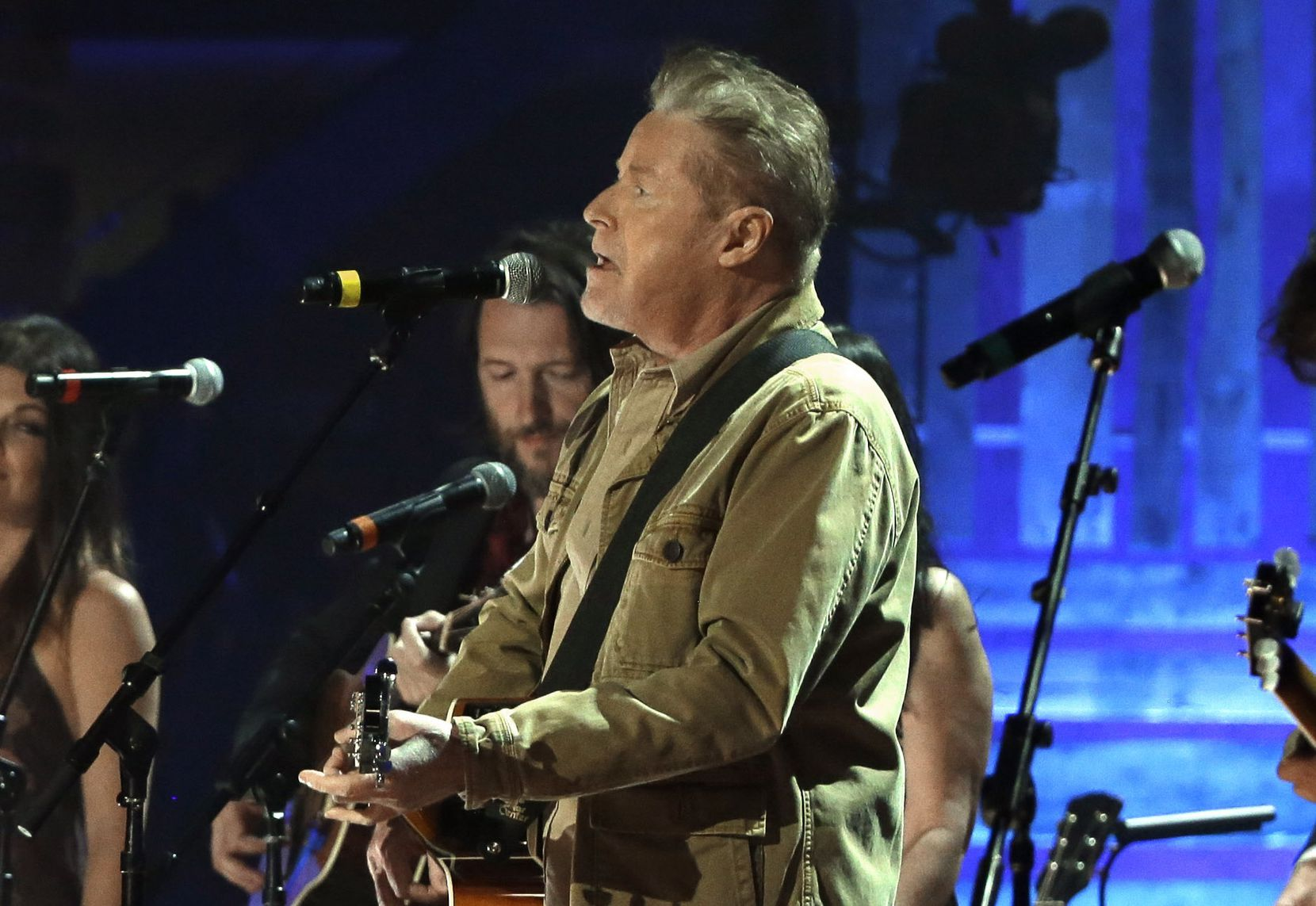Don Henley performs at the recent Americana Music Honors and Awards show in Nashville, Tenn. (AP Photo/Mark Zaleski)