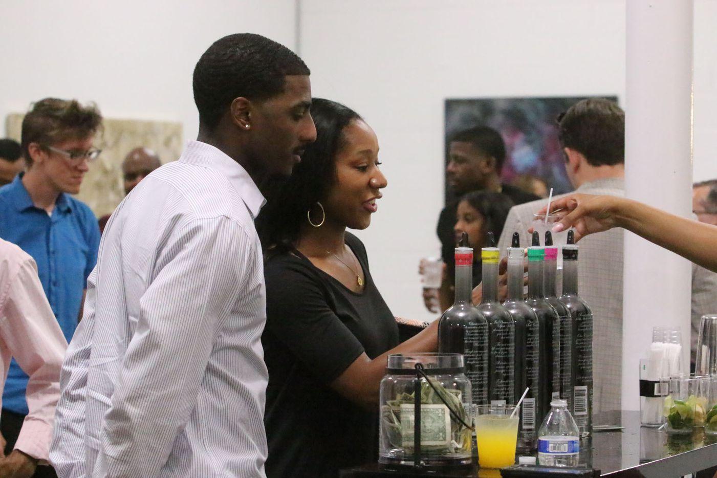 Random Art Gallery hosted the opening reception of visual artist Tori Martin's Euphoria art exhibit.
