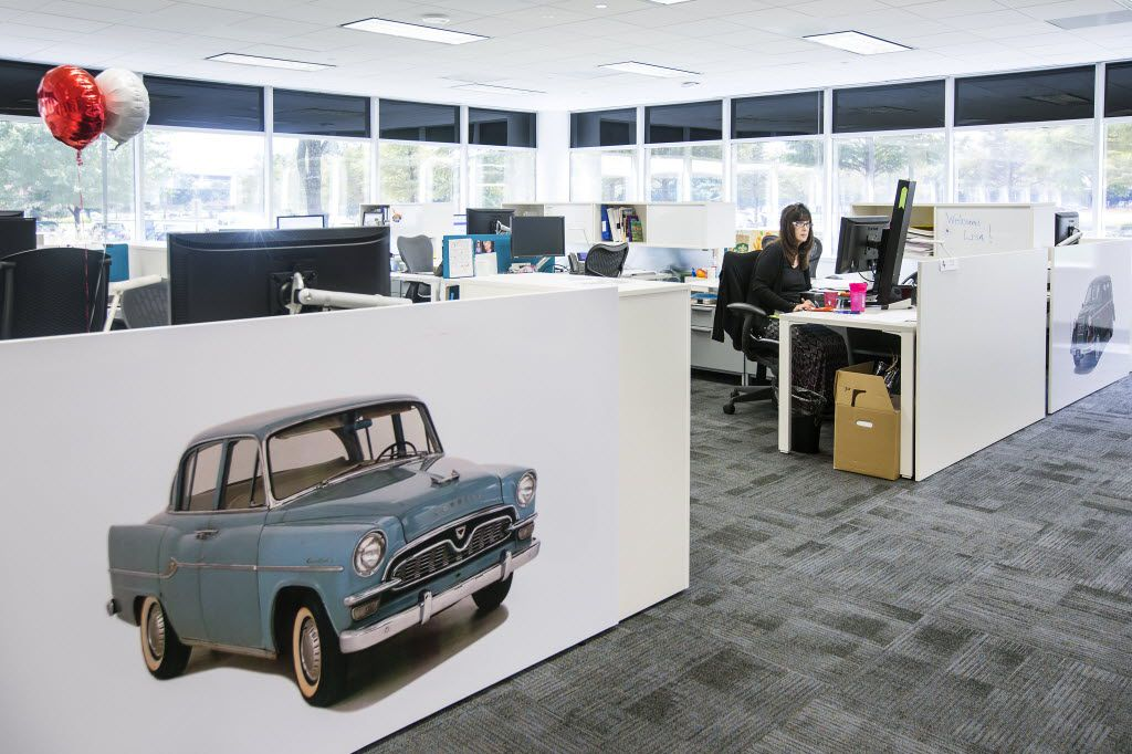 Workstations by Herman Miller. (Smiley N. Pool/The Dallas Morning News)