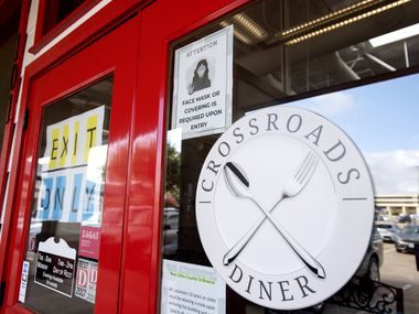 Crossroads Diner announced in mid November 2020 that it is permanently closed. The coronavirus pandemic weighed too heavily on its bottom line.