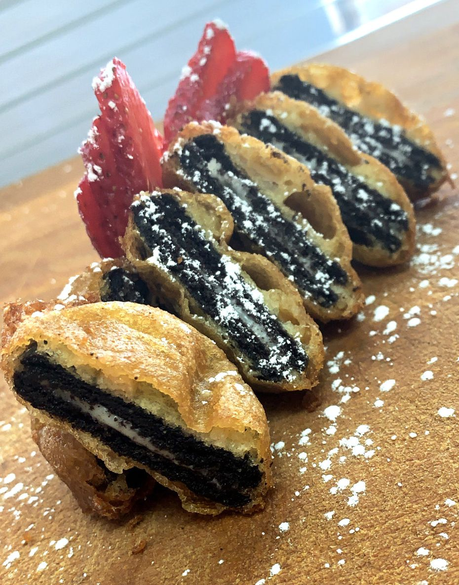 Greg Parish, whose family has operated a booth at the State Fair of Texas since 1985, is supplying ingredients for fried Oreos in the StateFairToGo.com box.
