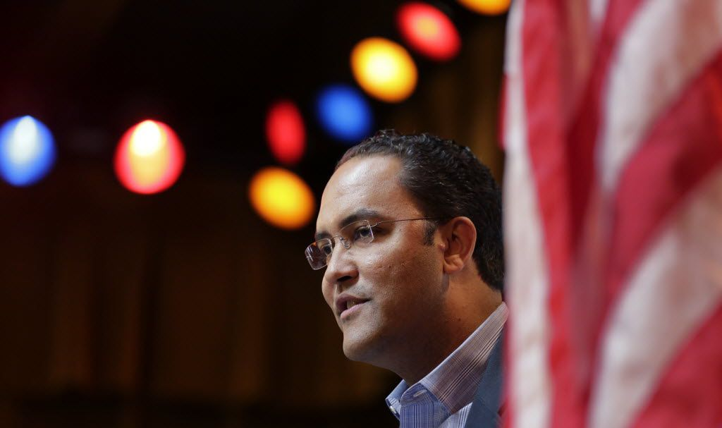 U.S. Rep. Will Hurd (above), R-San Antonio, is fighting for his political life in Congressional District 23, where Pete Gallego, a Democrat, is seeking to regain the House seat he lost in 2014.