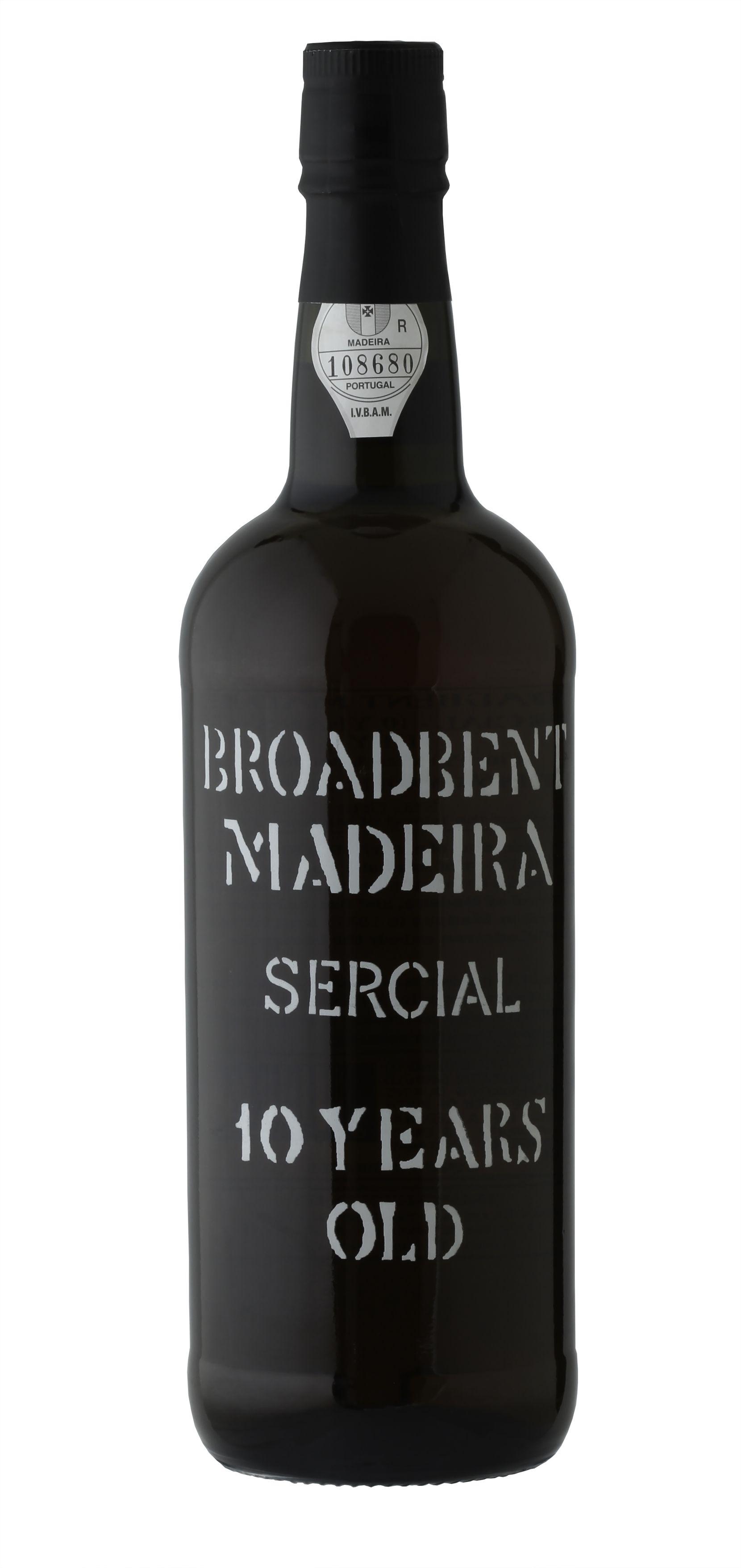 Broadbent Sercial Madeira 10-Year-Old, NV, Portugal