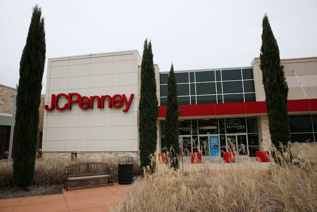 Outside the JCPenney department store at The Village at Fairview shopping center in Fairview, Texas Friday January 13, 2017. (Andy Jacobsohn/The Dallas Morning News)