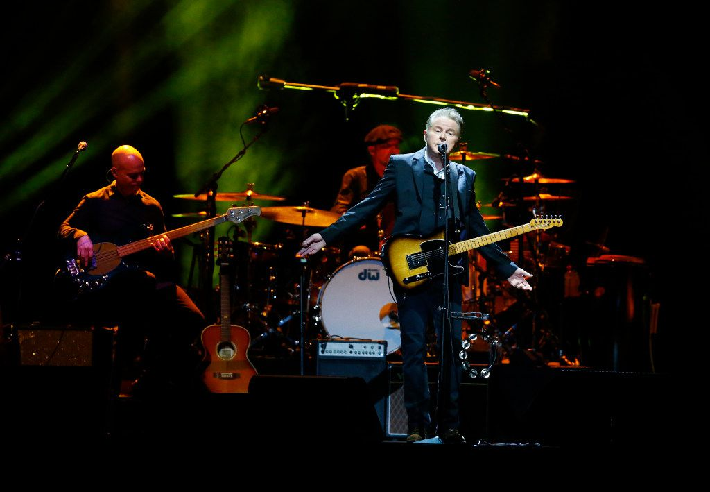 Don Henley performs during his 70th birthday concert at American Airlines Center in Dallas on July 22, 2017.   (Nathan Hunsinger/The Dallas Morning News)