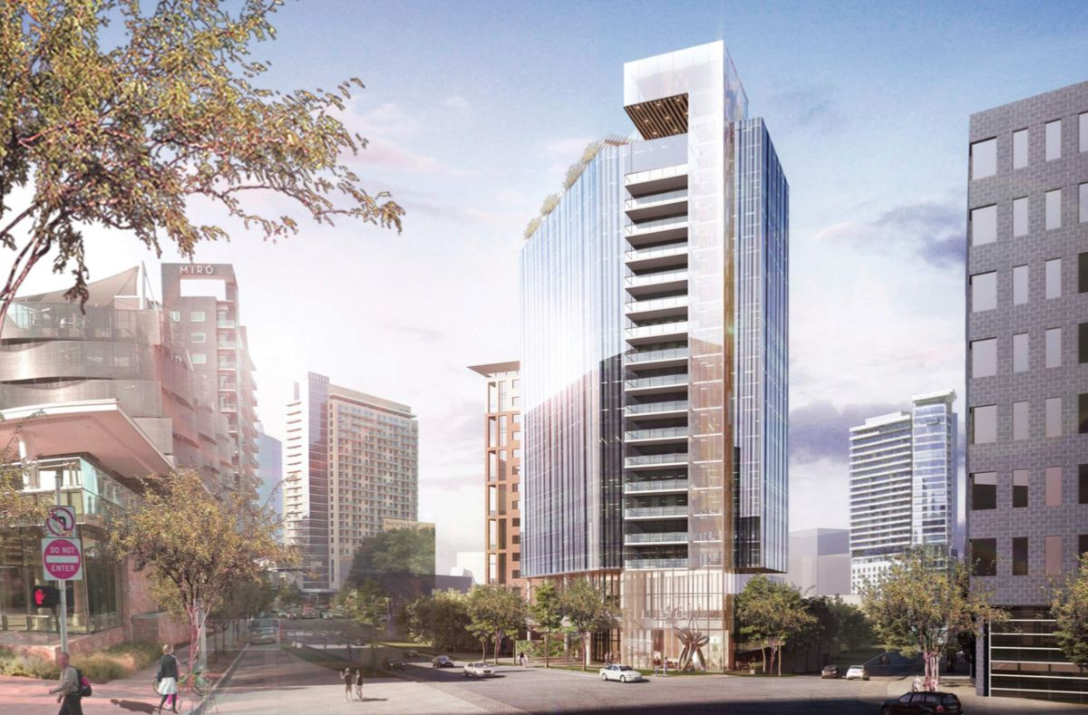 T2 Hospitality is planning to build a 19-story hotel.