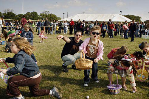 Desde caza de huevos de pascua, hasta talleres de arte y actividades para celebrar el Día de la Tierra serán sin costo este fin de semana en Dallas. (G.J. McCarthy/The Dallas Morning News)