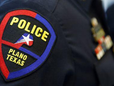 File photo of Plano police badge.