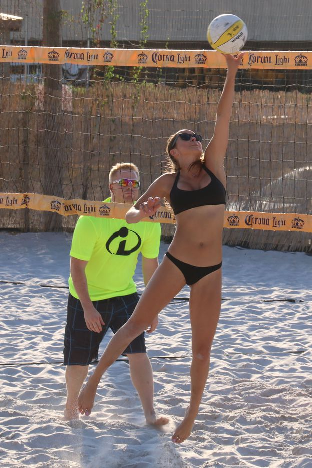 Models 4 Mutts Sand Volleyball tournament for Operation Kindness was held at Sandbar Cantina and Grill on September 19, 2015