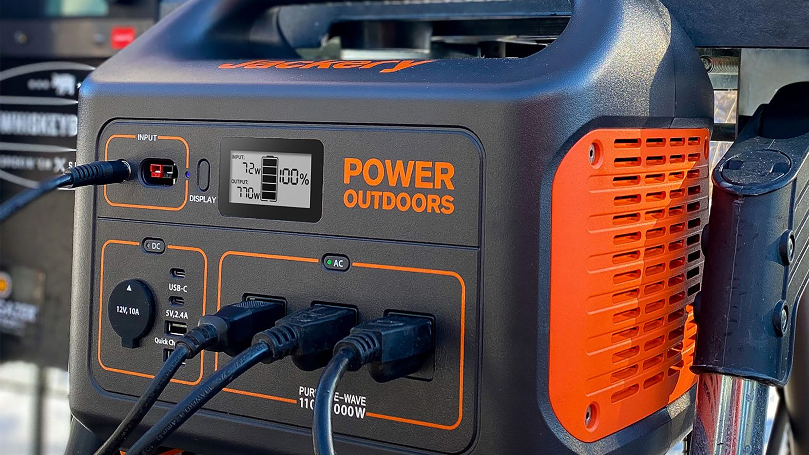 The Jackery Explorer 1000 Portable Power Station
