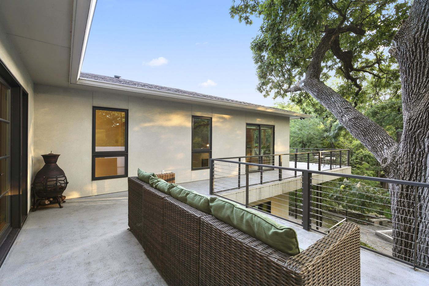 A look the property on 645 Kessler Reserve Court in Dallas.