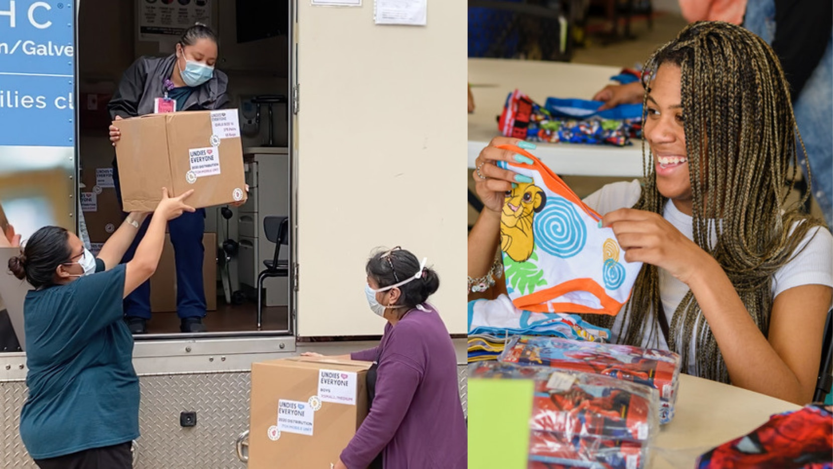 This year, Undies for Everyone is providing seven pairs of new underwear to 20,256 children in the metroplex for a total of 141,792 pairs.