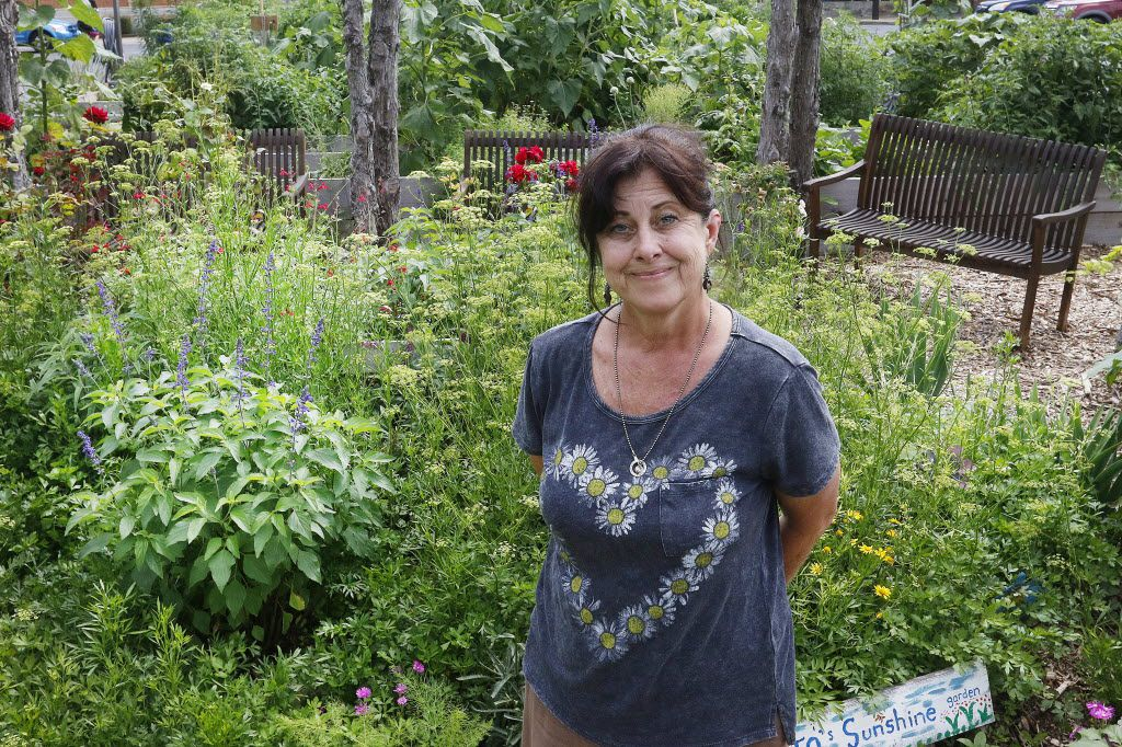Elizabeth Dry, executive director and president of the nonprofit Promise of Peace Community Garden