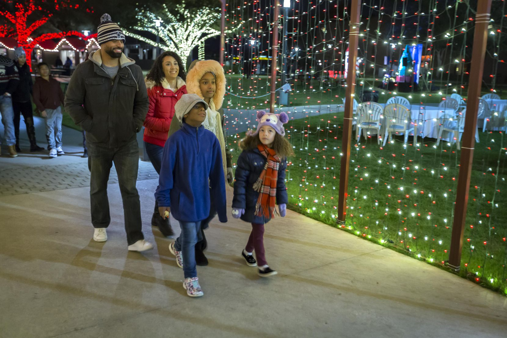 Christmas at the Anatole will include Peppermint Park, an outdoor holiday theme park, for children and their families.