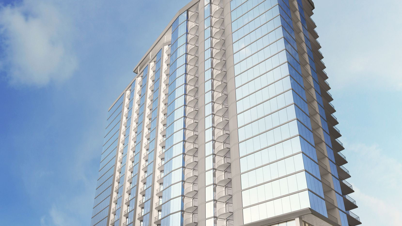 The Residences at Eastline apartment tower will have 330 units.