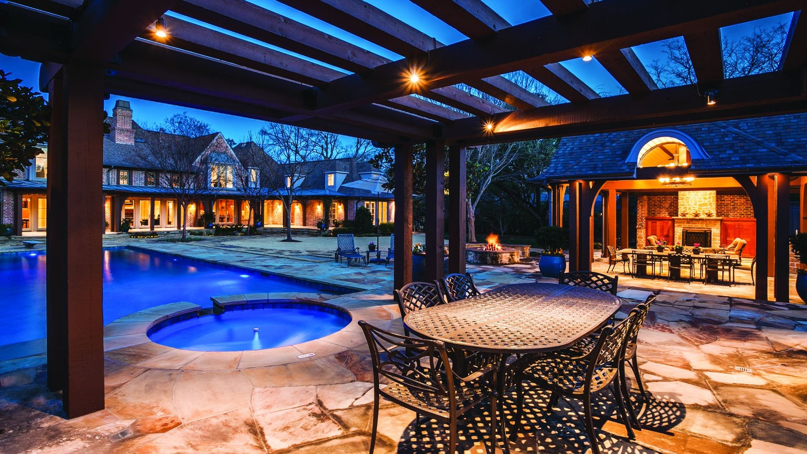Sherry Louis Fontenot of Dave Perry-Miller Real Estate is offering the five-bedroom estate at 10115 Waller Drive in Preston Hollow for $3,290,000.
