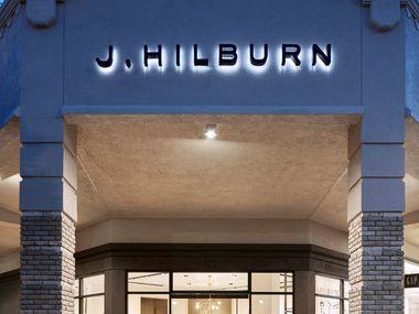 J. Hilburn showroom at Inwood Village in Dallas.