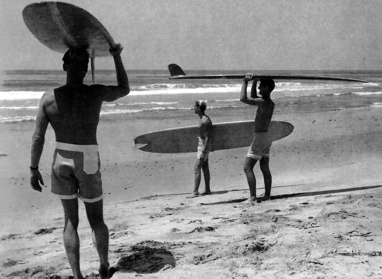 "A scene from the 1966 big-wave classic, ""The Endless Summer."""