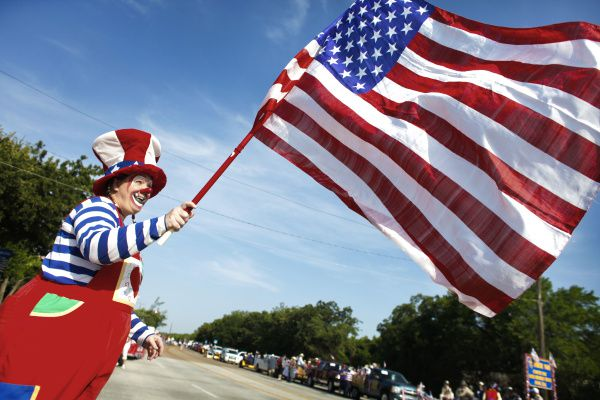 The City of Irving hosts an Independence Day parade with fun floats and custom cars.