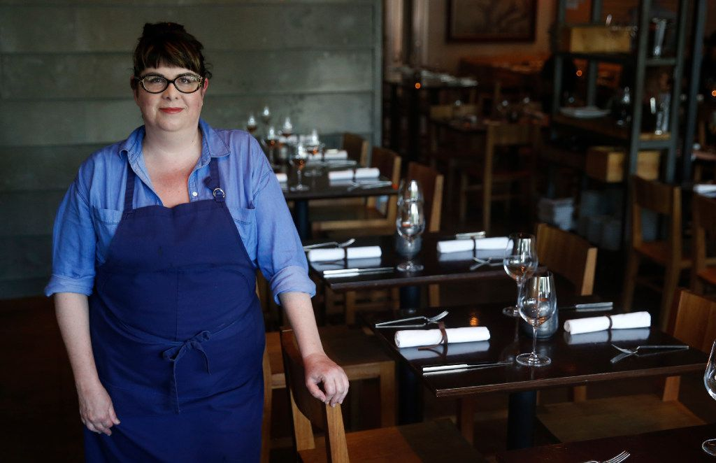 Pastry chef Maggie Huff's quietly wonderful desserts lean toward the savory. (Tailyr Irvine/The Dallas Morning News)