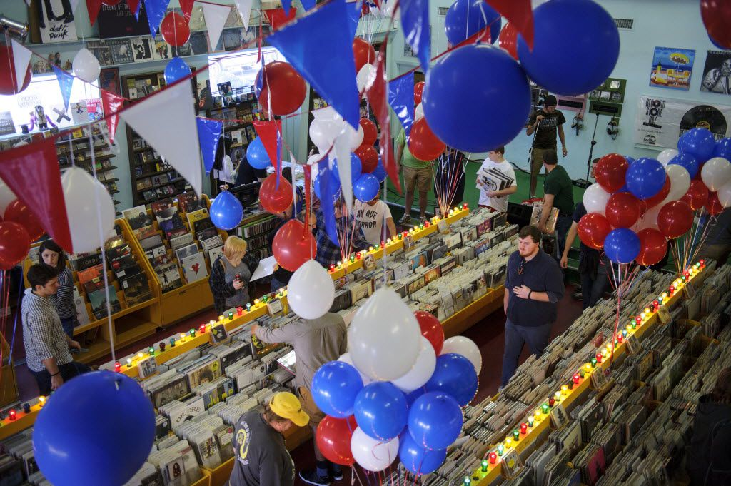 a quick guide to record store day events in north texas. Black Bedroom Furniture Sets. Home Design Ideas