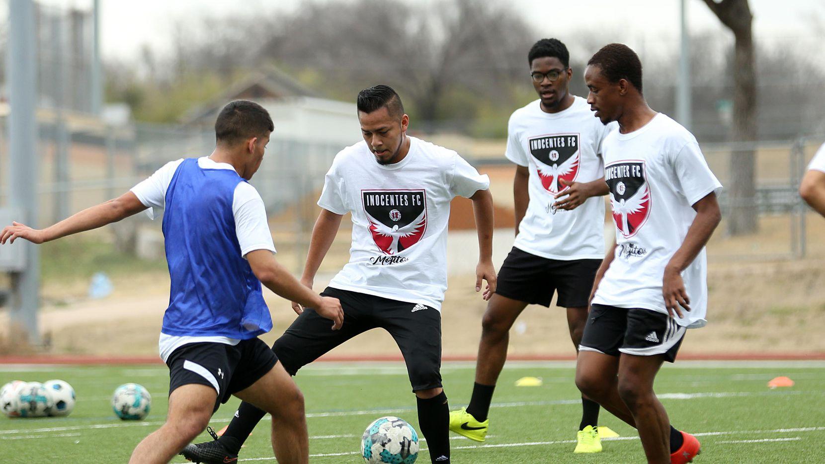 Inocentes FC de Fort Worth  va por el pase a la final nacional de la UPSL. (ESPECIAL PARA AL DÍA/OMAR VEGA)