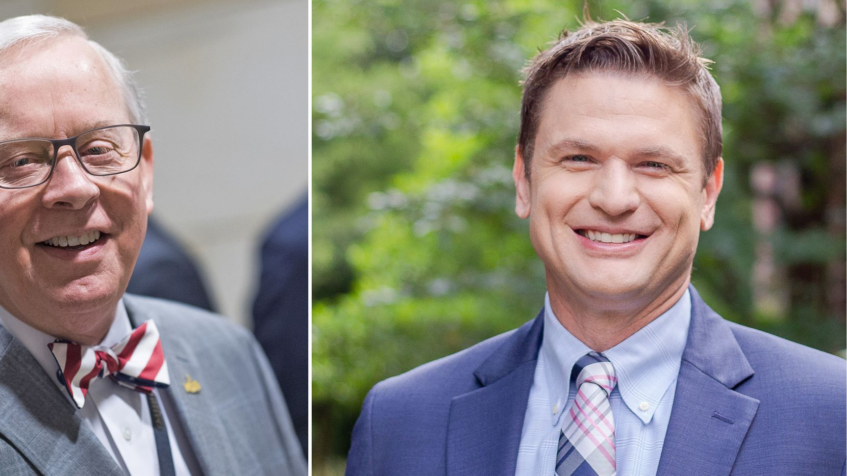 U.S. Rep. Ronald Wright (R-TX) faces Democrat Stephen Daniel in the race to represent Texas' 6th Congressional District.