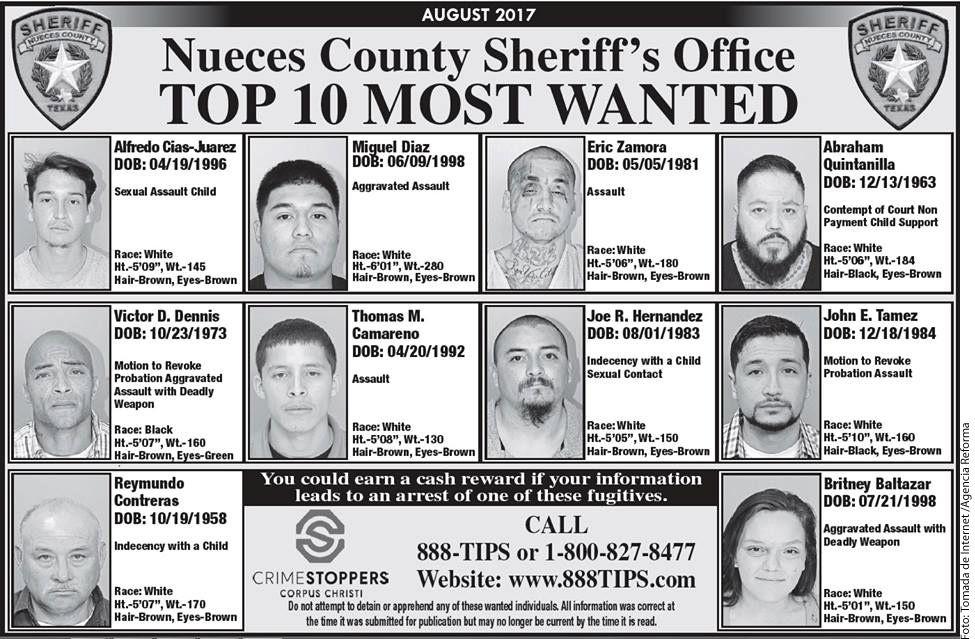 A.B. Quintanilla, ex líder de Kumbia Kings, aparece entre los 10 más buscados en un condado de Texas presuntamente por problema de manutención de sus hijos. AGENCIA REFORMA