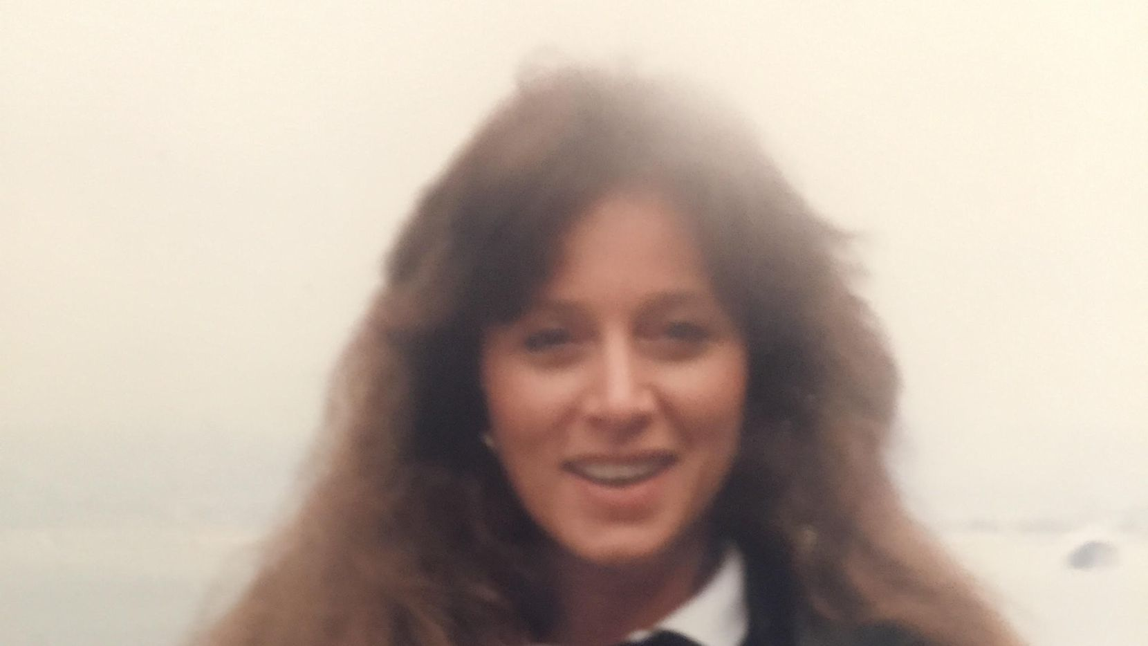 San Francisco Giants fan Lori Cowlishaw in 1988.