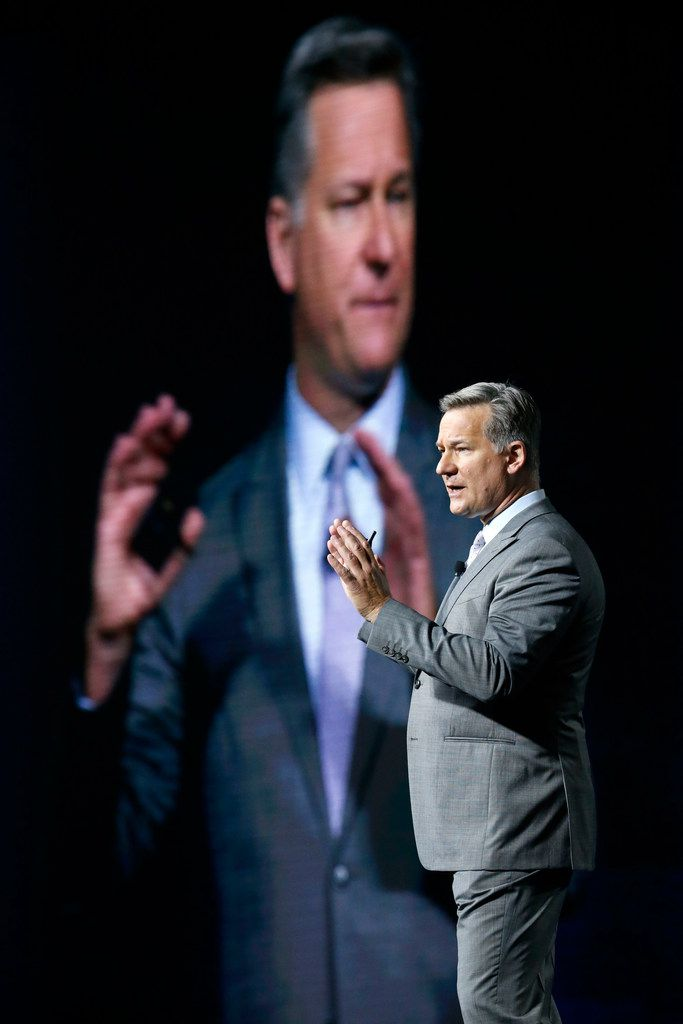 Author Robert Tercek discusses five trends that will shape the future of digital services during the AT&T Business Summit at Gaylord Texan Resort & Convention Center in Grapevine.