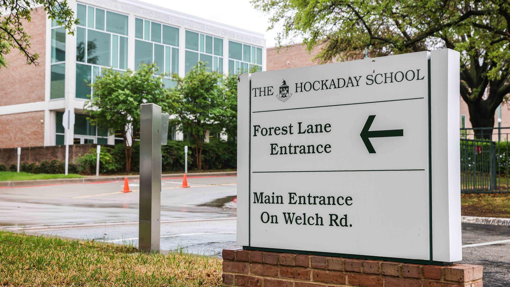 Entrada de la Hockaday School en Dallas.