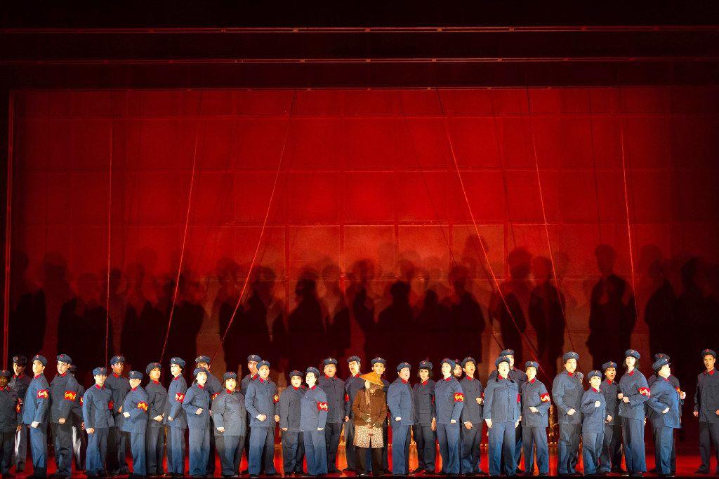 The Houston Grand Opera production of Nixon in China.