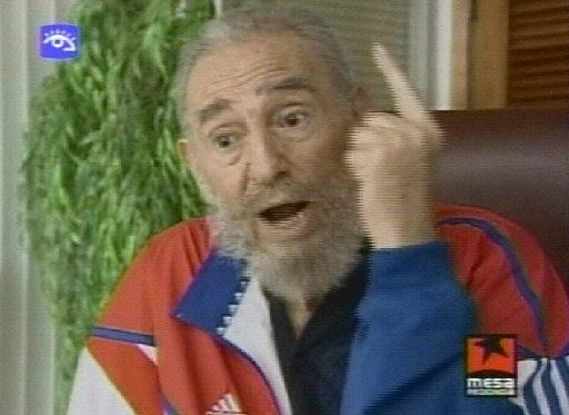 Castro, shown speaking on Cuban television in 2007, survived even after the Soviet Union collapsed. (Cubavision/The Associated Press)