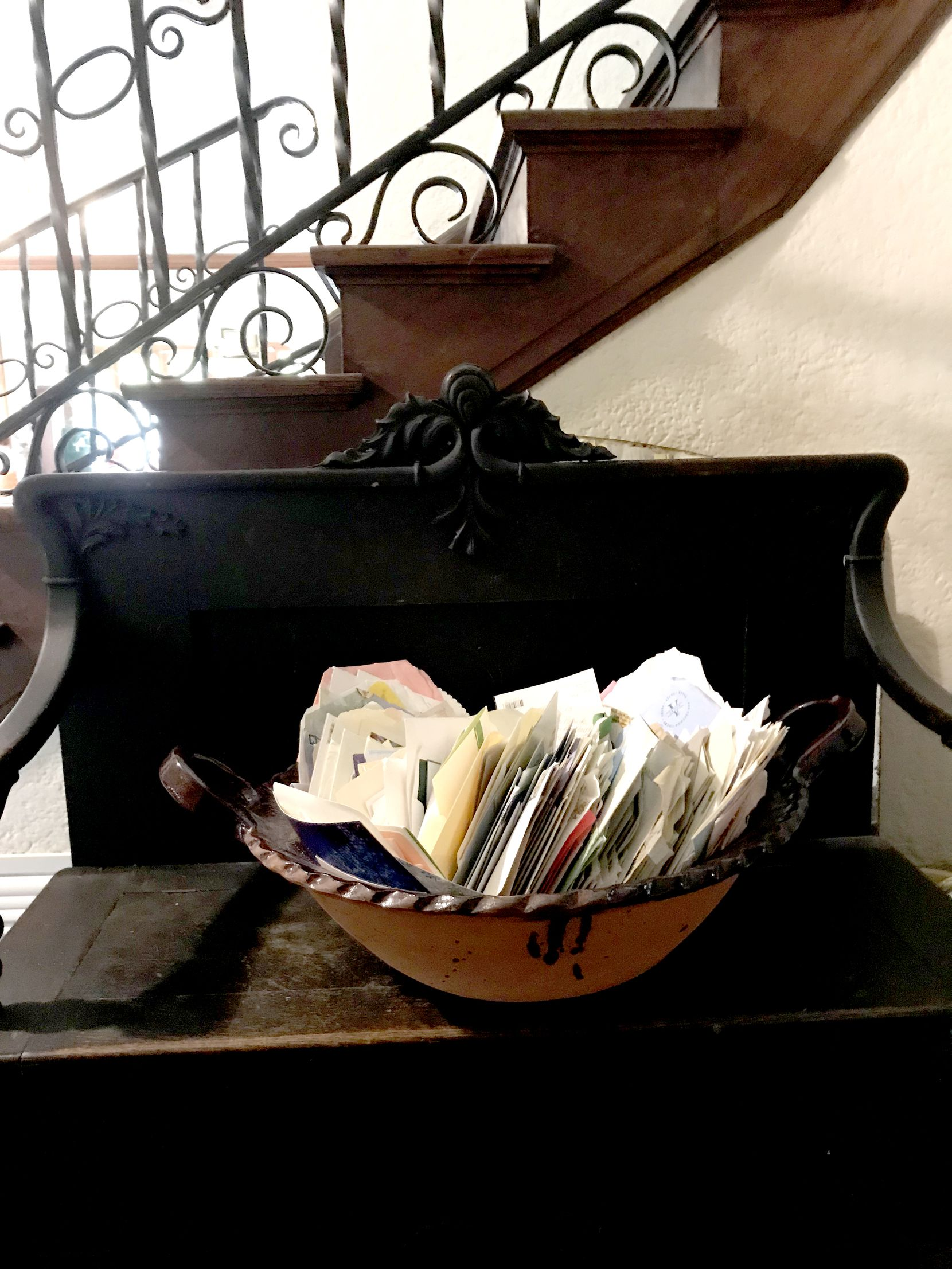 In the front hall of the McSwanes' home, they keep a bowl full of letters they received after the suicide of their son Patrick, who battled schizophrenia.