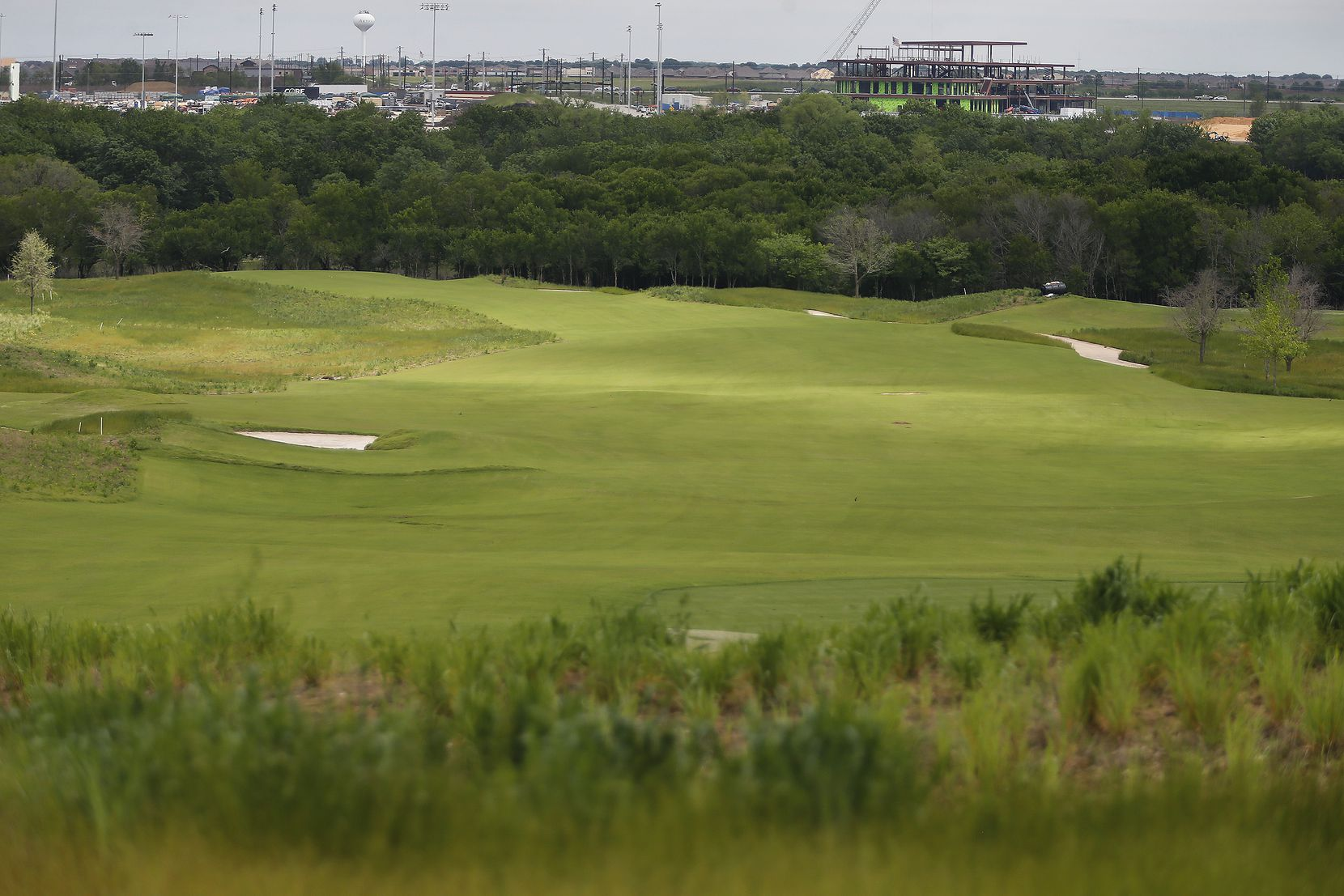 The fiarway on the fifth hole of the west course at the Omni PGA Frisco Resort on PGA Parkway in Frisco on Tuesday, May 4, 2021. (Stewart F. House/Special Contributor)