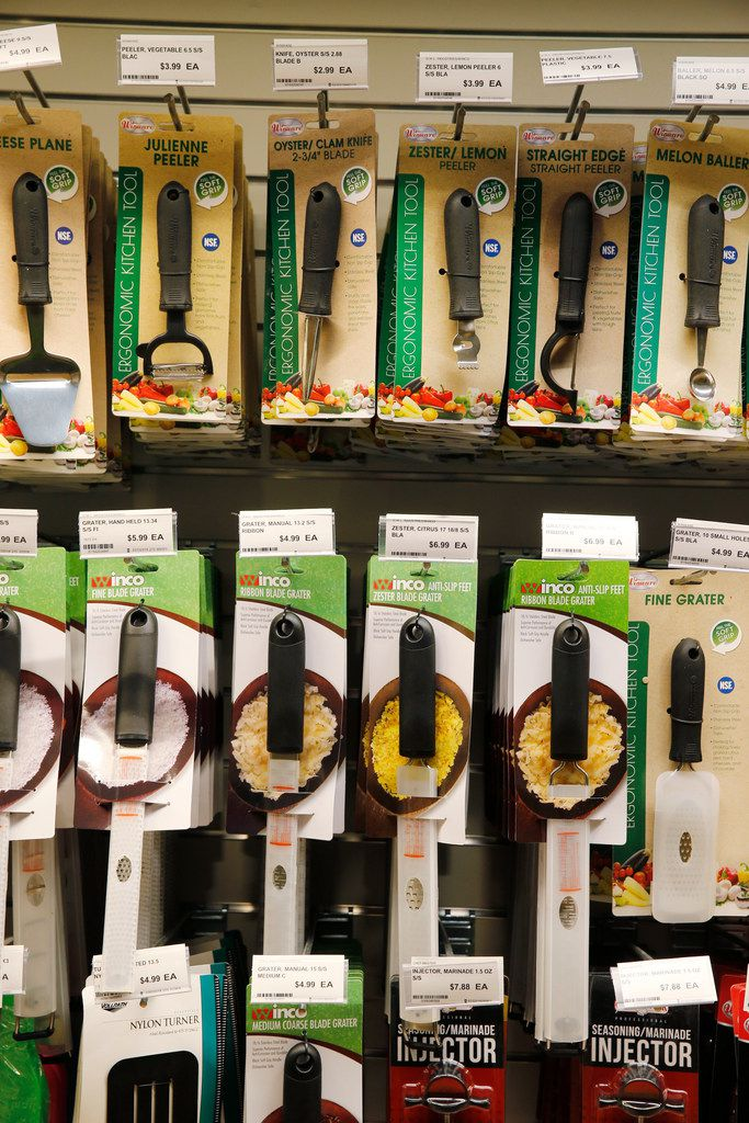 Cooking tools sold at Chef'store in Farmers Branch.