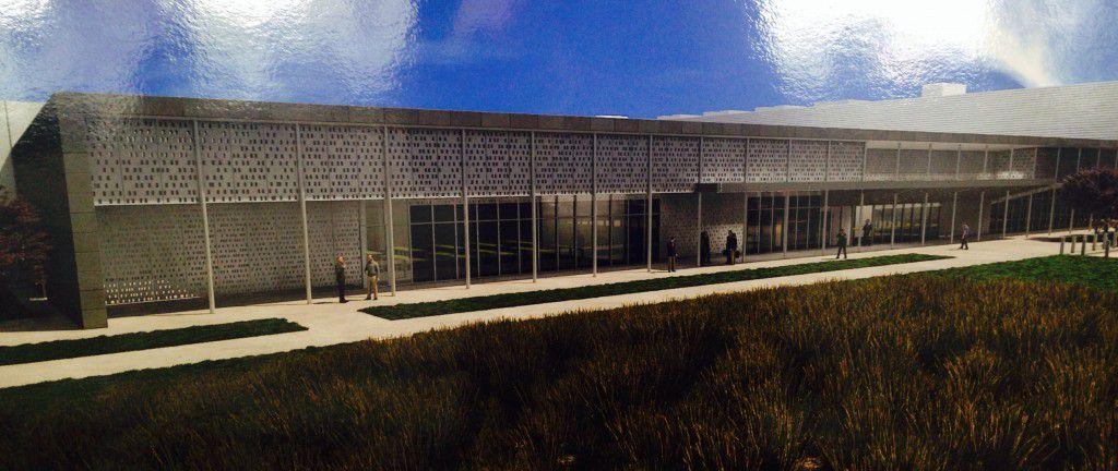 Facebook's Fort Worth data center.