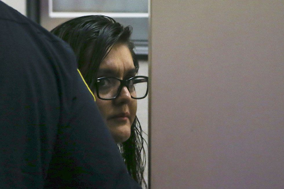 Brenda Delgado was convicted Friday of hiring Crystal Cortes and Kristopher Love to kill Kendra Hatcher, an Uptown dentist who was in a relationship with Delgado's ex-boyfriend.