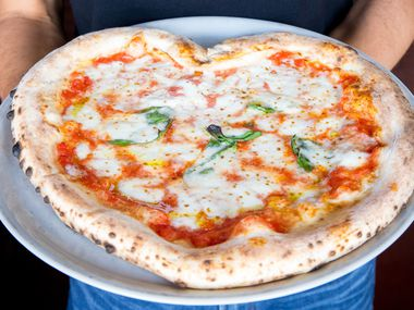 Cane Rosso and Zoli's in Dallas-Fort Worth sold heart-shaped pizzas this week. But not on Valentine's Day: All of the pizza joints are closed in D-FW because of the winter storm that could result in up to 7 inches of snow in parts of North Texas.