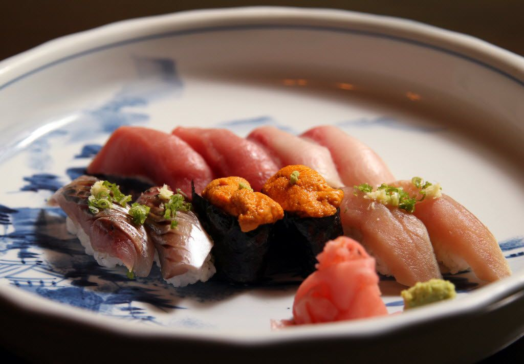 Sushi platter at Masami Japanese Sushi and Cuisine