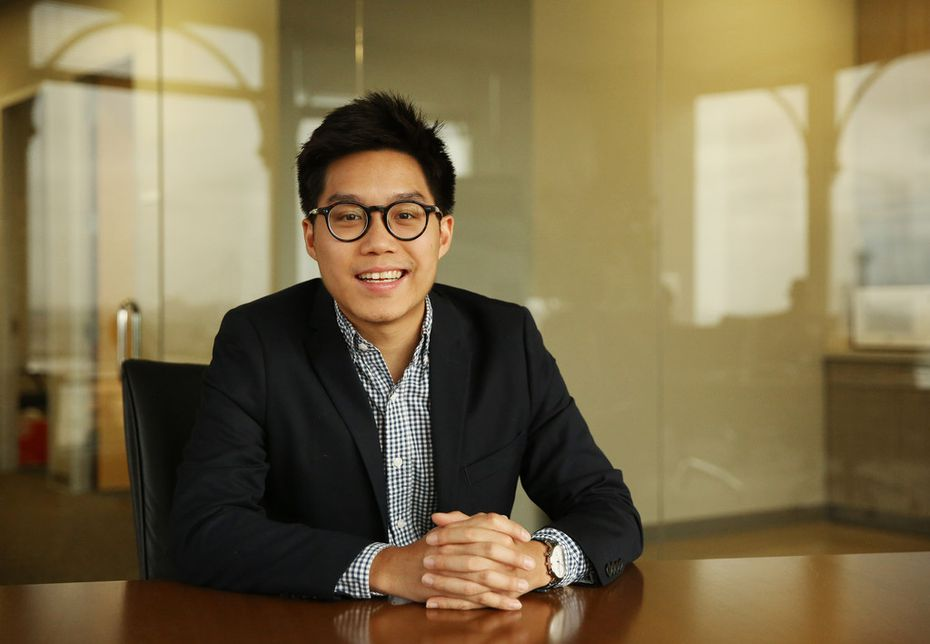 Steven Duong is a senior urban designer for AECOM, which is interested in bringing a hyperloop to Dallas. (Andy Jacobsohn/The Dallas Morning News)