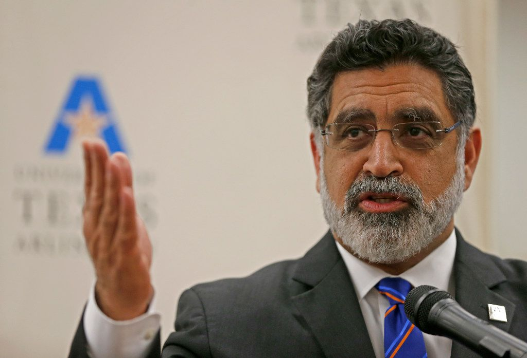 Vistasp Karbhari, president of University of Texas at Arlington, is one of three finalist for a similar post at the University of Central Florida.