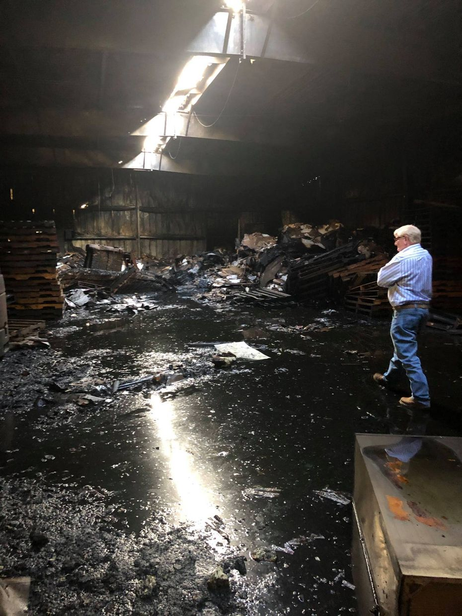 Greenberg Smoked Turkey, Inc. in Tyler suffered a fire and at least two explosions on Nov. 6, 2020.